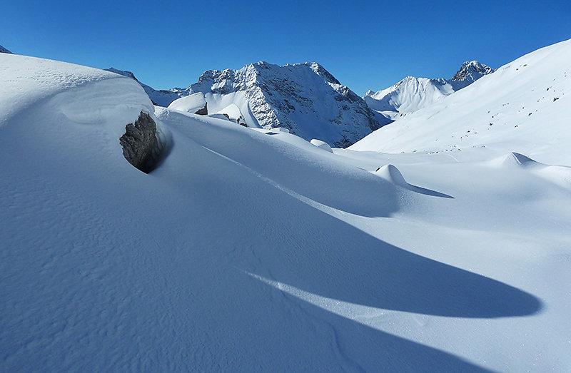 Unterwegs auf Skitour