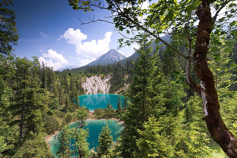 Kratersee im Lechtal
