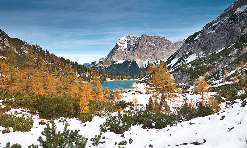 Wintereinbruch am Seebensee