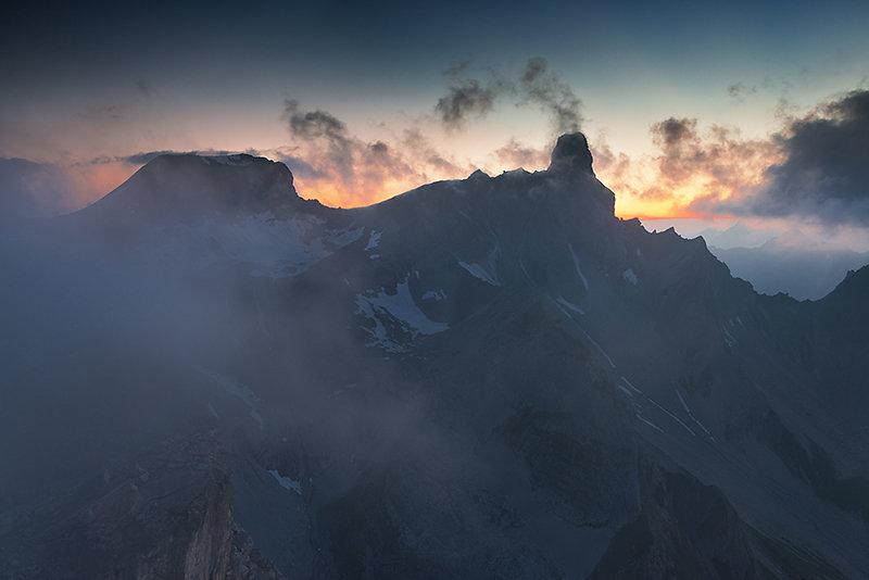 Geisterstimmung in den Lechtaler Alpen
