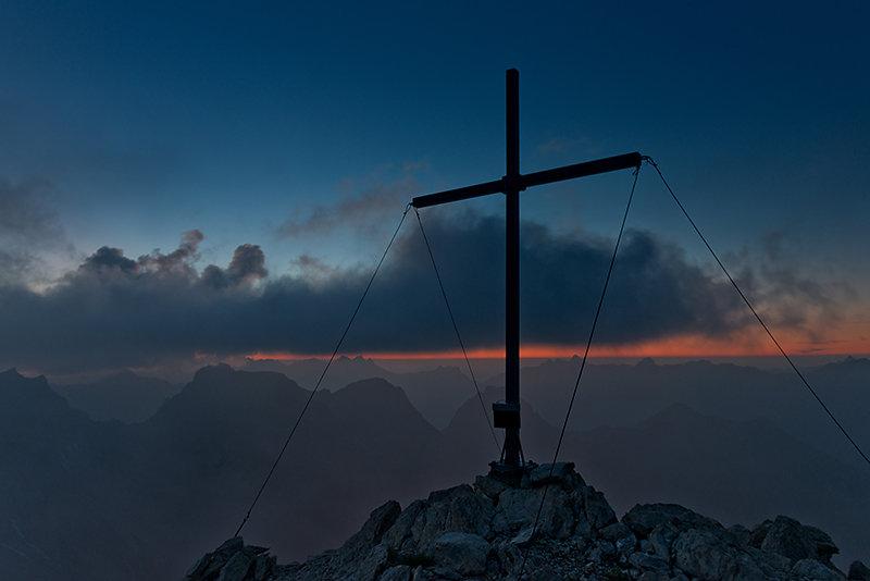 Gipfelkreuz der Fallenbacherspitze