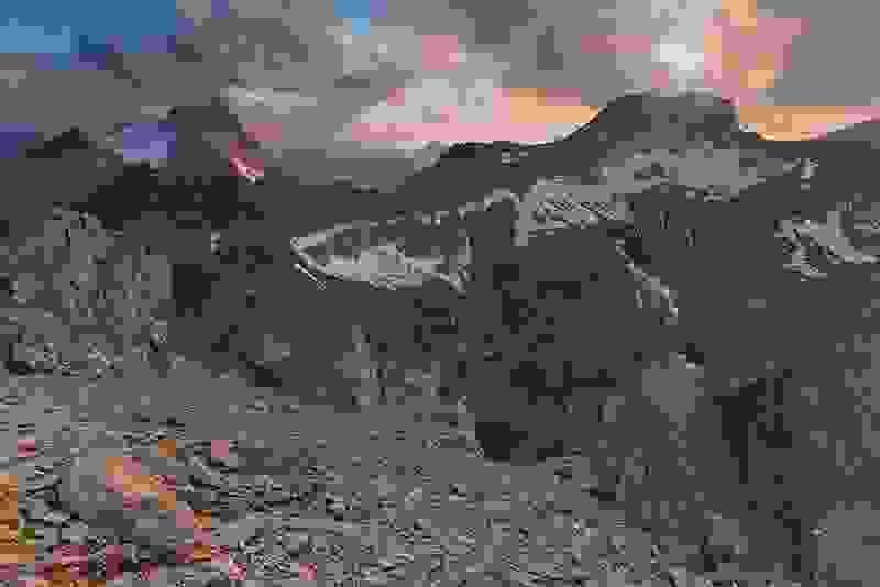 Blick zur Feuerspitze
