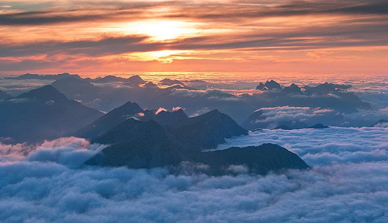 Der Sonnenuntergang rückt näher