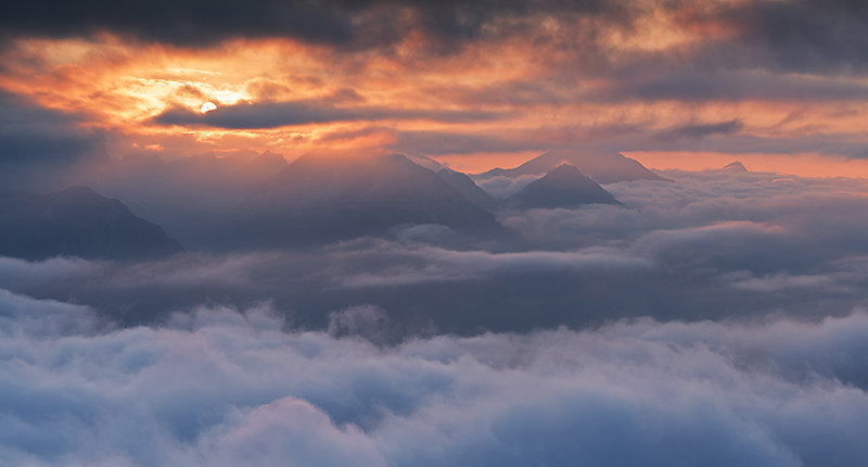 Durch den Nebel aufgestiegen und Belohnung abgeholt ;)